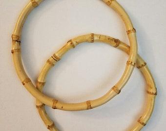 Round Wooden Purse Handles