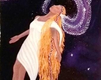 Lindu's astral veil - an art card