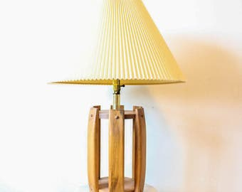 Unique Wood Lamp | Wood Lamp | Wooden Lamp | Lamp | Old Lamp | Wood Accent Lamp | Wooden Accent Lamp | Bedside Lamp | Bedroom Lighting