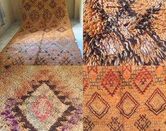 VINTAGE Talsint Moroccan Rug