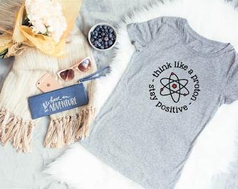 Positive Thinking Shirt - Postitive Vibes Shirt - Positive Energy Shirt - Positive Inspiration - Positive Affirmation - Positive Message