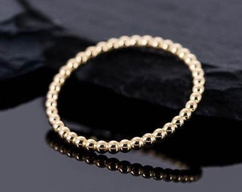 THE ball ring from 750 gold