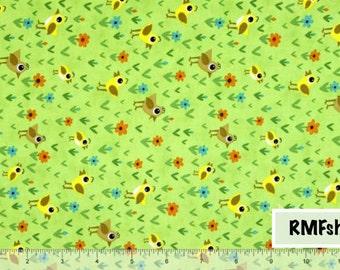 Moda Fabrics Oink-a-Doodle-Moo - Leaf Fabric by Jenn Ski - Sold by Half Yard