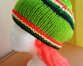 Green rasta Hat