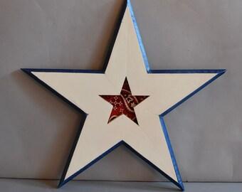 Wooden Star 5256