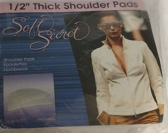"Soft Secret by Sil-o-ette | 1/2"" Thick Shoulder Pads 