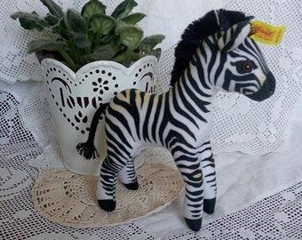 Steiff Ossi Zebra Standing EAN 1512/16
