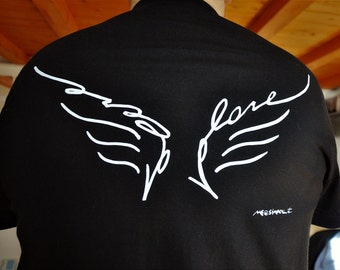 S. NT Valentine for him T-shirt Ali-Wings want to fly