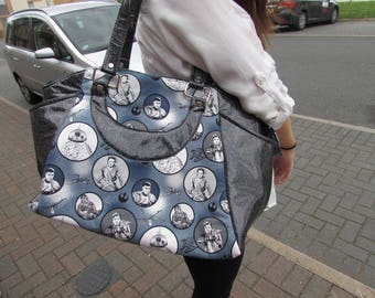 Star wars sparkle vinyl bag