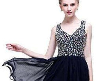 Strapless Beadings Short Homecoming Dress Prom Dresses Evening Gowns