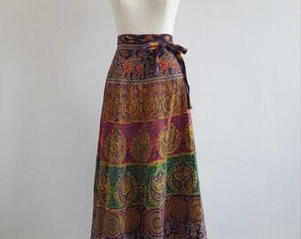 1970s wrap skirt