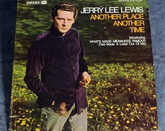 Jerry Lee Lewis - Another Place, Another Time (Smash 67104) LP Record