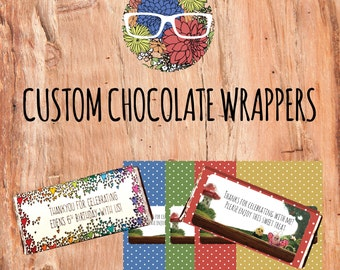 Chocolate wrappers | Etsy