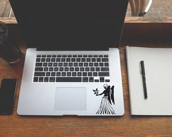 Horoscope Virgo decal sticker for Laptop, Phone, Macbook, Wall art, Car, Mirror, Window, Door  #161