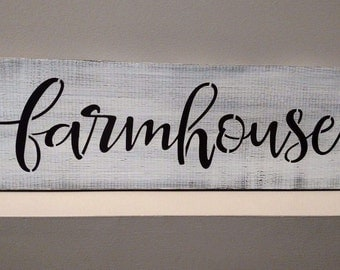 farm house rustic kitchen wood sign fixer upper style  pallet farmhouse sign
