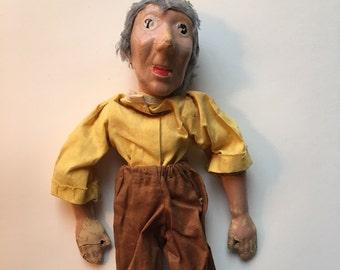 Vintage Sassy Grandma Marionette