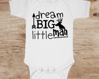Cute Baby Boy Clothes, Little Deer Baby Shirt, deer onesie, new baby boy clothes, newborn baby clothes for boys, cute baby clothes for boys