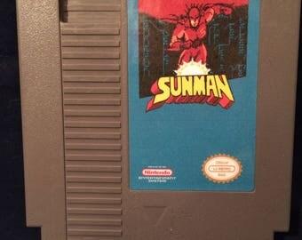 Sunman NES Game
