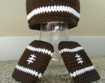 Football Hat With Mittens