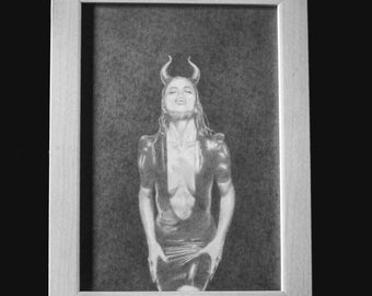Wicked Ways. Pencil Drawing Print