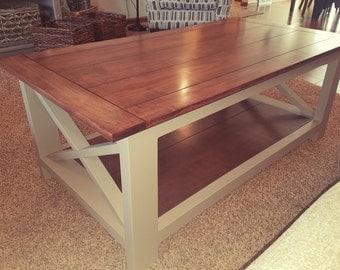 Handmade Hardwood Coffee Table
