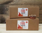 Eco Friendly Fire Starters, Box of 24