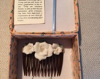 Earring and Hair Comb Set