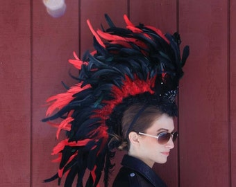 Feather Mohawk / Headdress