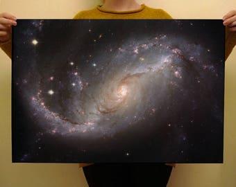 Galaxy Space Premium Wrapping Paper 50 x 70cm Birthday Gift Wrap Nebular Stars Nerd Print