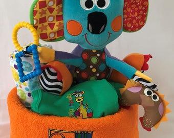 Kenny the Koala Nappy Cake