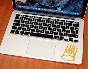 J Cole Crown Sticker - J Cole Decal - Macbook Stickers - Car Decals