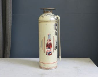Vintage Pepsi Cola Fire Extinguisher