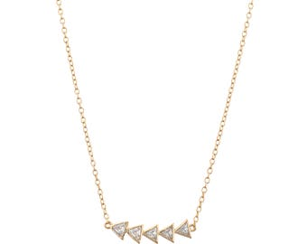 Multi Arrow Necklace