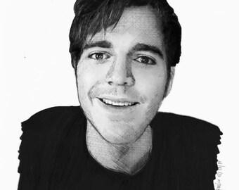 Shane Dawson Realism Drawing