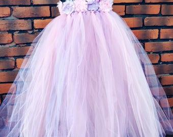 Flower girl dress ~ Lilac flower girl dress ~ lavender bridesmaid dress ~ Flower girl age 2-3 ~ Toddler wedding dress ~ purple bridesmaid