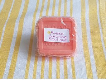 Cinnamon and Orange Shea Butter Square Bar Soap