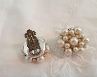 Pearl Cluster Copper Wire Japan Clips