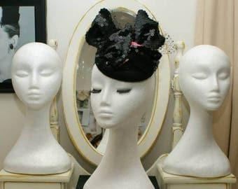 Candice - millinery headpiece