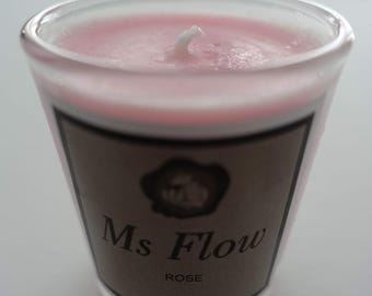 Ms Flow Summer Rose Candle