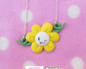 Flowey Necklace - Undertale