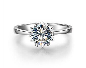 snowflake ring ,snowflake diamond ring ,snowflake diamond engagement ring ,diamond snowflake ring,Simple Wedding Ring,promise ring vintage,