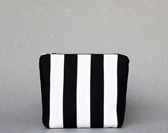 Zebra Etui in Patchwork Linen