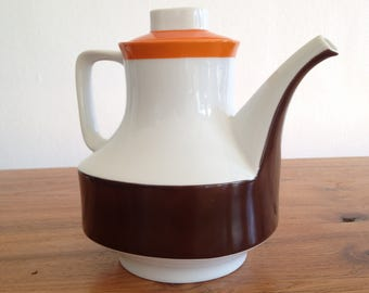 Teapot / coffee pot, porcelain, Germany, seventies