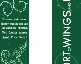 A Court of Wings and Ruin bookmark