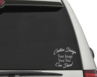 Custom Car Decals Etsy - Custom car decals nz   how to personalize