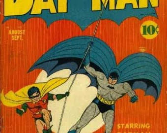 Batman Comics on DVD