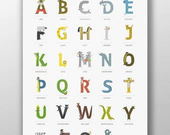 ABC / Alphabet Print
