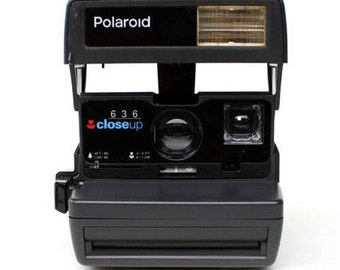 Polaroid, Polaroid 636 Close Up, Vintage Camera, Retro Camera