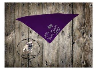 Baby Announcement Bandana, Personalized BIG BROTHER/SISTER, Dog/Cat Bandana, Pet Bandana, Dog Gift, Pet Gift, Dog Accessories, Cat Accessori