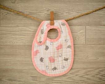 Muslin Baby BIB SEWING PATTERN - Digital Download - Aiden & Anais Burpy Inspired